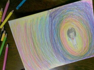 絵を描くのが好き。