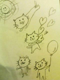 ネコちゃんの絵